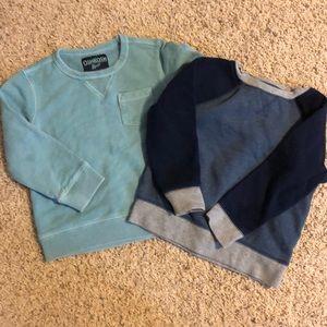 2 boy sweatshirts 3T
